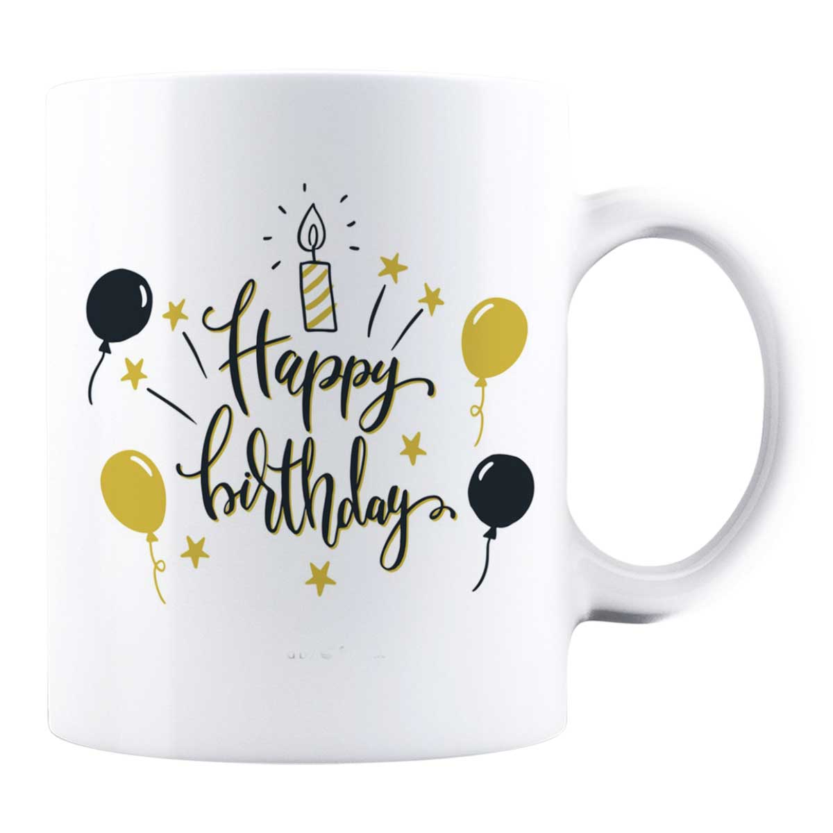 Cană personalizată - Happy Birthday