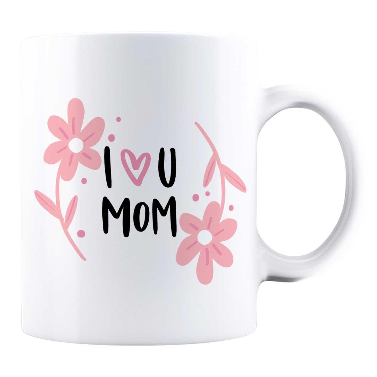Cană personalizată - I love you MOM