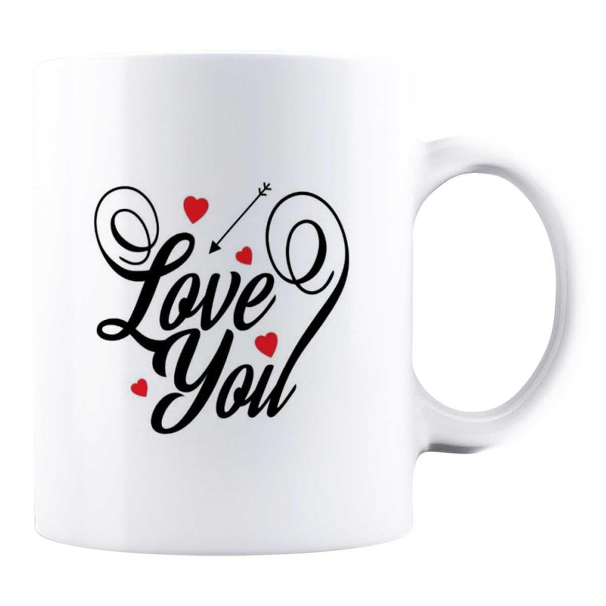Cană personalizată - Love you!
