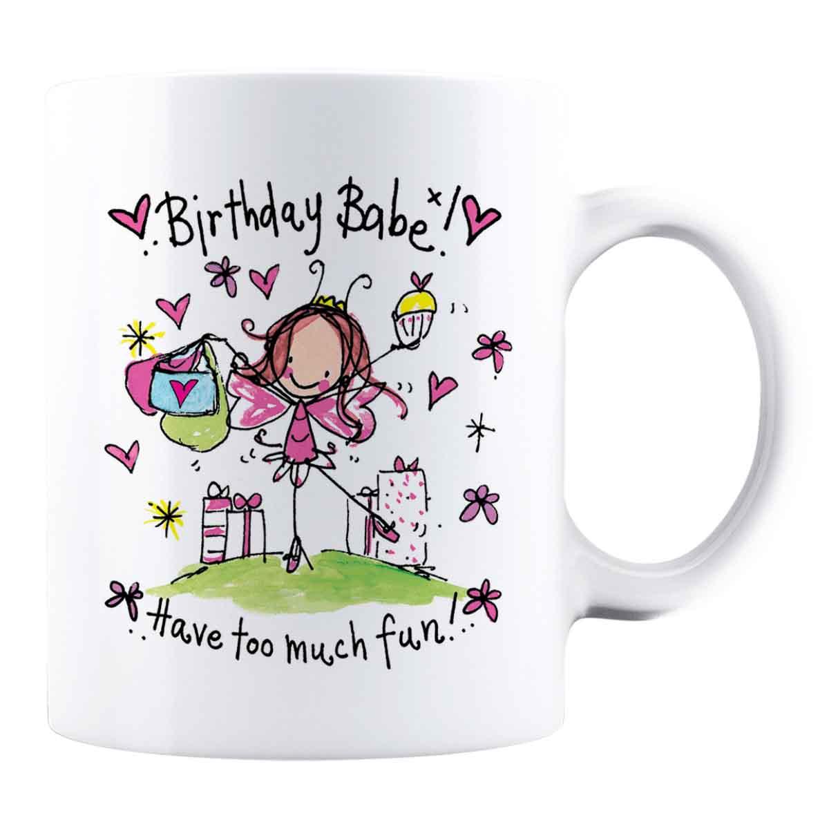 Cană personalizată - Birthday Babe