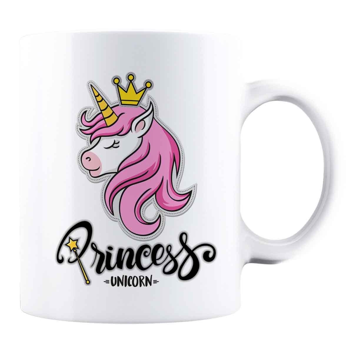 Cană personalizată - Princess Unicorn