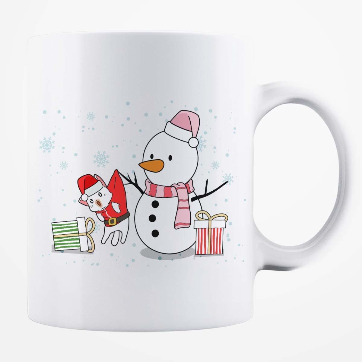 Cană albă personalizată - Christmas 1